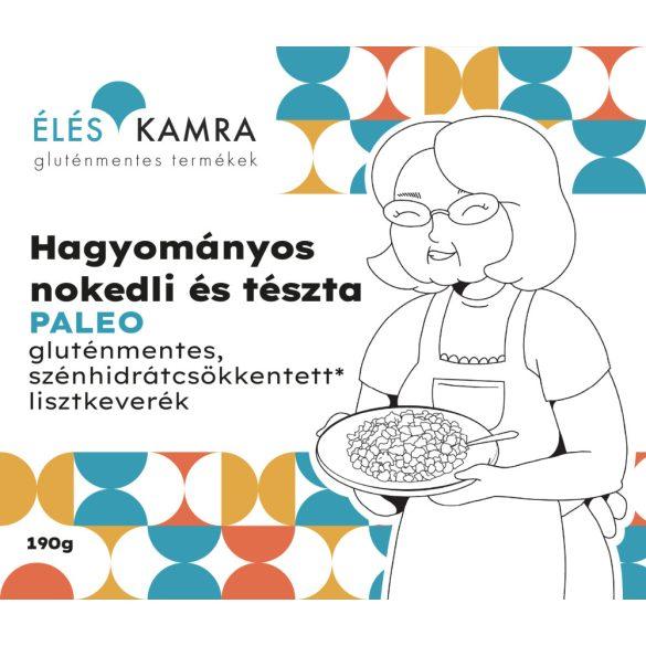 Éléskamra Hagyományos Nokedli Keverék Nettó tömeg: 190g gluténmentes