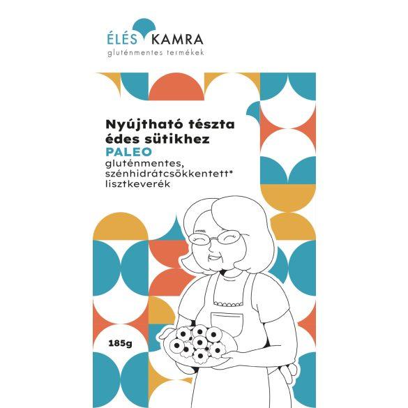 Éléskamra Nyújtható tészta édes sütikhez szénhidrát csökkentett* lisztkeverék (paleo, gluténmentes, cukormentes) 185 g