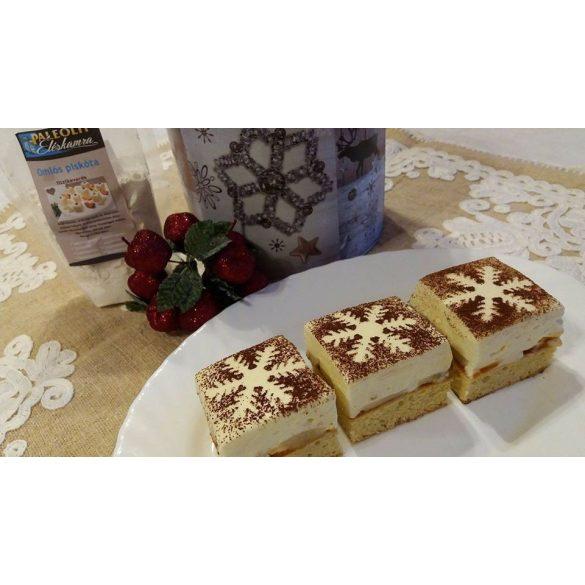 Éléskamra Omlós piskóta szénhidrát csökkentett* lisztkeverék (paleo, gluténmentes, cukormentes, édesítésmentes) 125 g