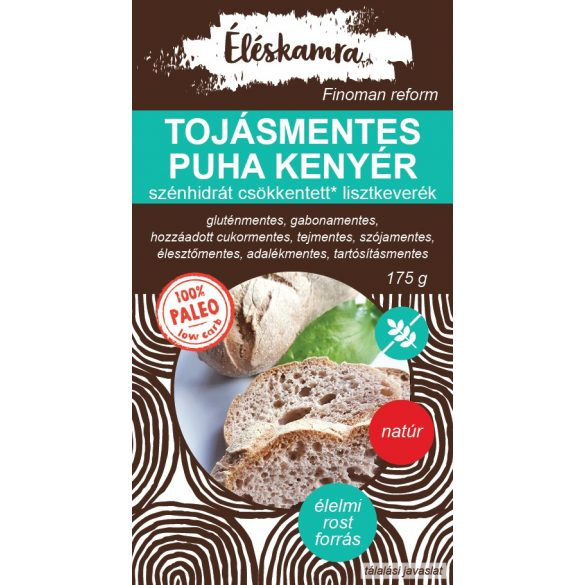 Éléskamra Tojásmentes paleo kenyér lisztkeverék 175 g gluténmentes