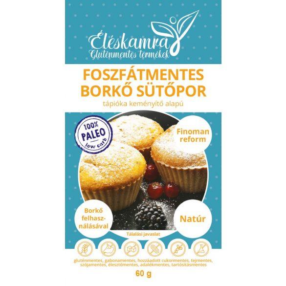 Éléskamra Foszfátmentes paleo sütőpor 60 g gluténmentes