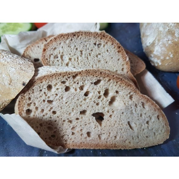 Éléskamra Falusi fehér kenyér szénhidrát csökkentett* lisztkeverék (paleo, gluténmentes, cukormentes) 200 g