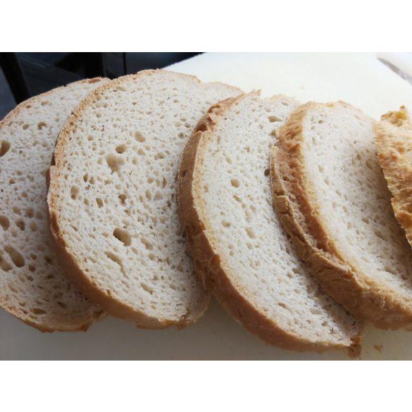 Gluténmentes Házi fehér kenyér készre sütött 500 g (tejtermék, cukor, szója, kukorica nélkül)