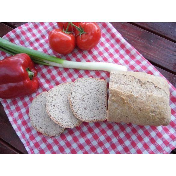 Éléskamra Szénhidrát szegény vacsora kenyér szénhidrát csökkentett lisztkeverék 190 g (gluténmentes, paleo, cukormentes)