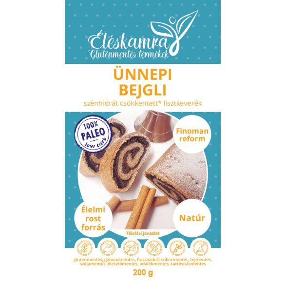 Éléskamra Ünnepi bejgli szénhidrát csökkentett lisztkeverék (2 rúdhoz) 200 g  (paleo, gluténmentes, cukormentes)